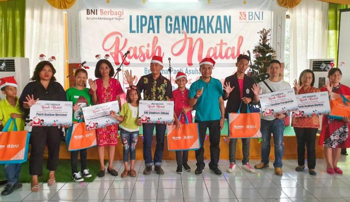 Rayakan Natal, BNI Wilayah Jakarta Kemayoran Sasar Panti Asuhan - Warta Ekonomi