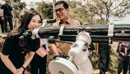 Angela Tanoesoedibjo Kunjungi Borobudur, Netizen: Promosikan Terus Pariwisata Indonesia