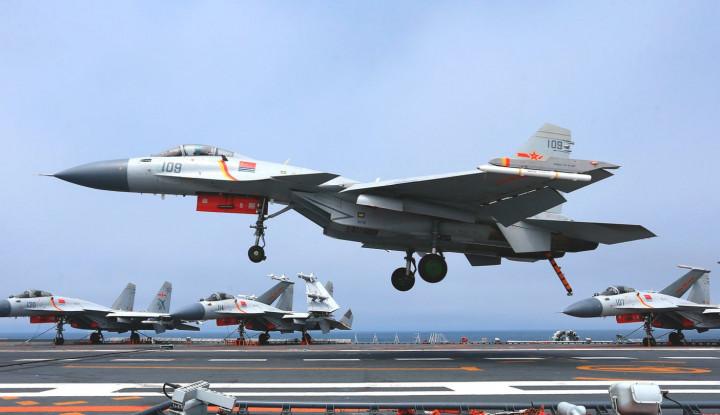 Halau China, TNI AU Kerahkan 4 Jet Tempur F-16 - Warta Ekonomi