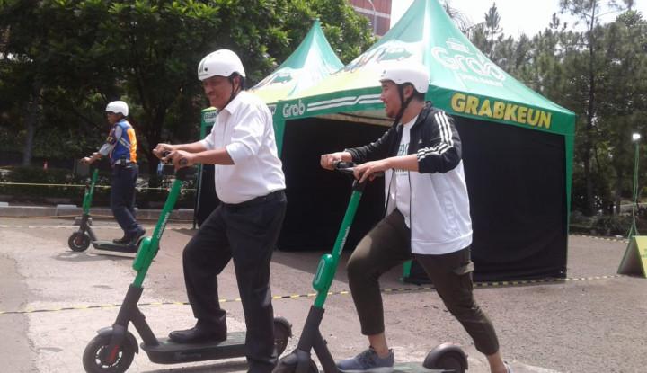 GrabWheels Tekan Angka Kecelakaan Kota Bandung, Top! - Warta Ekonomi
