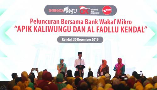 Cetus Jokowi: Berkat Doa Ulama, Ekonomi Stabil di 5%