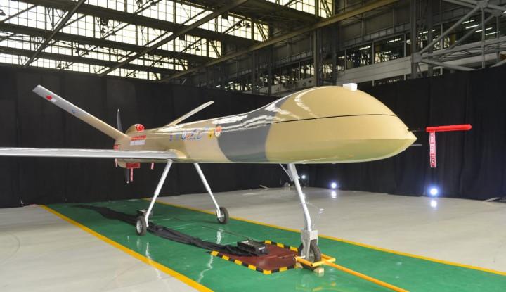 MANTAP!! Pesawat Tanpa Awak Buatan PTDI Bisa Terbang 24 Jam Nonstop - Warta Ekonomi