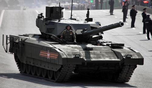 Rusia Pilih Suriah Jadi Lokasi Uji Coba Tank Terbaru T-14  Armata, Kenapa?