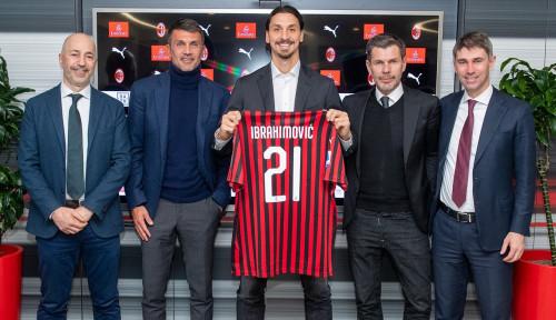 Foto Manager AC Milan Yakin Ibra Sukses Cetak Banyak Gol di Laga Perdana