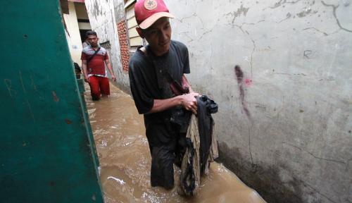 Penyebab Banjir di Jaksel Langsung Dibeberkan oleh Wakilnya Anies: Tanahnya Diambil Senayan