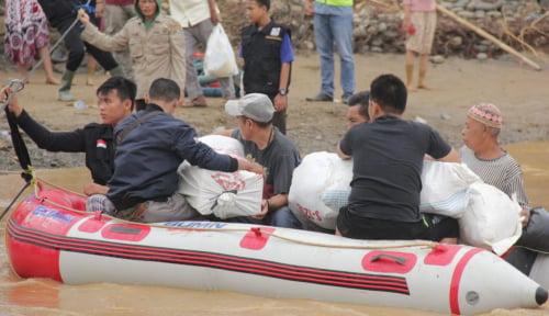 Foto Banjir Pergi, ISPA dan Diare pun Datang