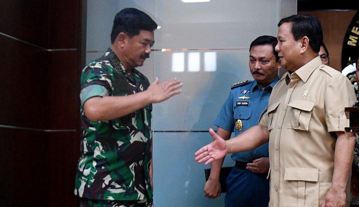 Soal Natuna TNI Udah Siap Tempur, Eh Prabowo Minta Cool Aja