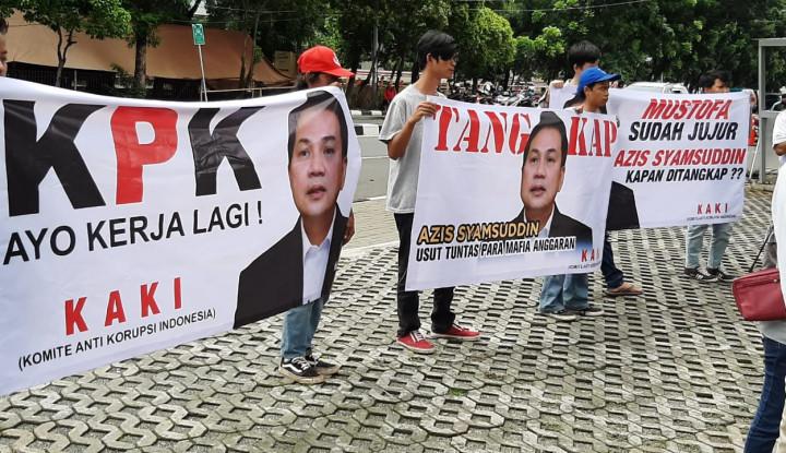 Mangkir dari Pemeriksaan KPK, Aziz Syamsuddin Katanya Sangat Khawatir dan Ketakutan!