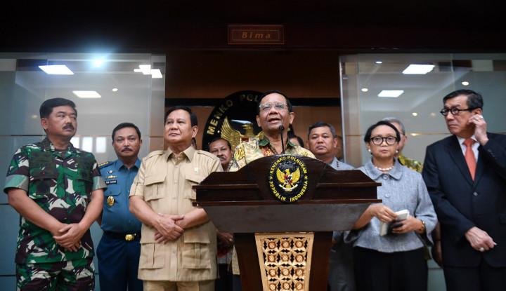 Mahfud Bocorkan Penyebab Menteri Jokowi Tak Satu Suara Tangani Natuna, Ternyata Karena Ini! - Warta Ekonomi