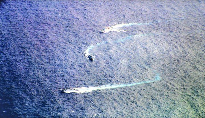 Update!! Kapal-Kapal China Sudah di Luar Wilayah Indonesia - Warta Ekonomi