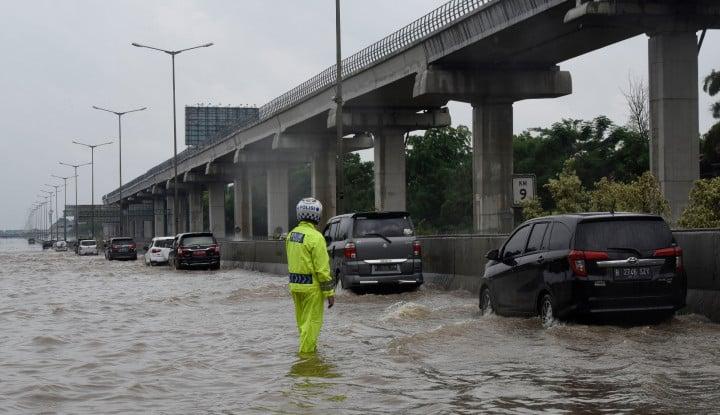 Kata Wali Kotanya, Banjir Jakarta Utara Emang Disengaja - Warta Ekonomi
