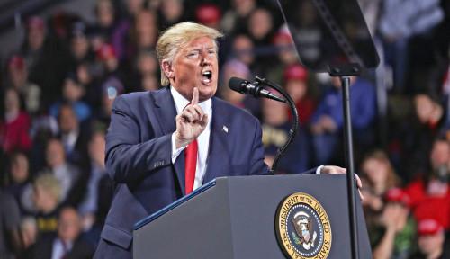 Foto Trump Labil, Sekarang Bilang: Karantina Tak Diperlukan