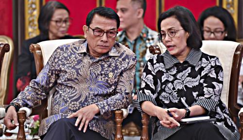 Foto Heboh Elektabilitas, Moeldoko Berkeras: Jangan Bicara Politik! Kita Lagi Fokus Ekonomi