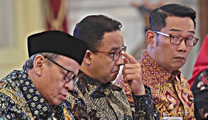 wakil mui puji anies dan prabowo, terus bilang: presiden belum dapat bantuan luar negeri kah?