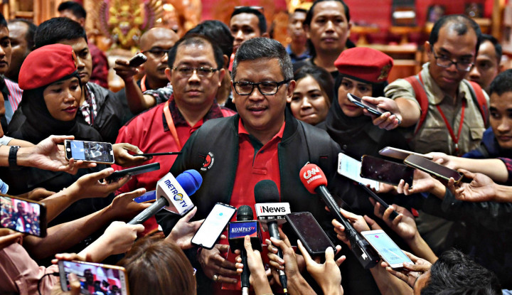 Dihujani Puluhan Pertanyaan, Hasto Tegas: PAW Hak Parpol