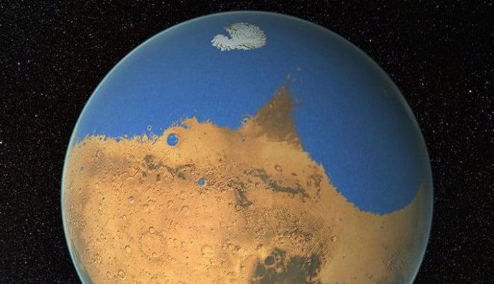 Demi Bisa Dihuni, Ilmuwan sedang Teliti Kadar Garam dan Keasaman di Mars - Warta Ekonomi