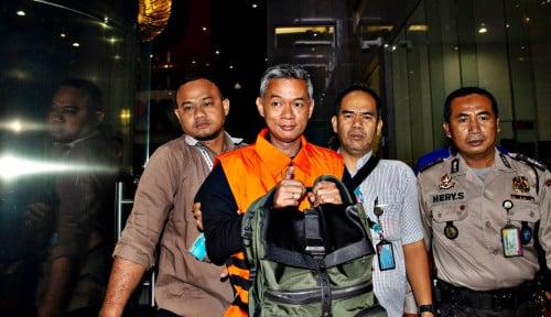 Foto Diperiksa KPK, Wahyu Setiawan Dikonfrontasi dengan Advokat PDIP