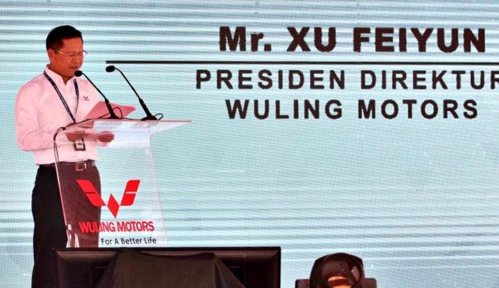 Ciptakan Pertumbuhan Positif, CEO Wuling Indonesia Sabet Anugerah Ini! - Warta Ekonomi