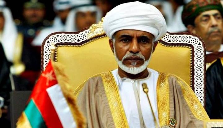 Sultan Oman Qaboos bin Said Tutup Usia - Warta Ekonomi