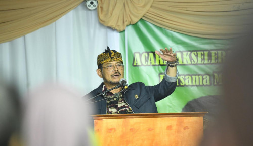 Foto Mentan Dorong Sulsel Jadi Pionir Perkreditan Pertanian