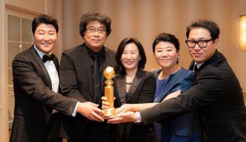 Foto Sabet 4 Penghargaan Sekaligus, Parasite Sukses Guncang GFCA