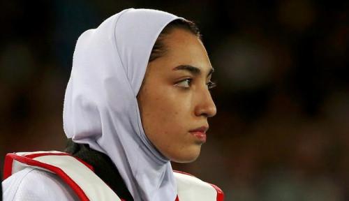 Foto Muak Jadi Alat Propaganda, Atlet Wanita Iran Berhenti Wakili Negaranya