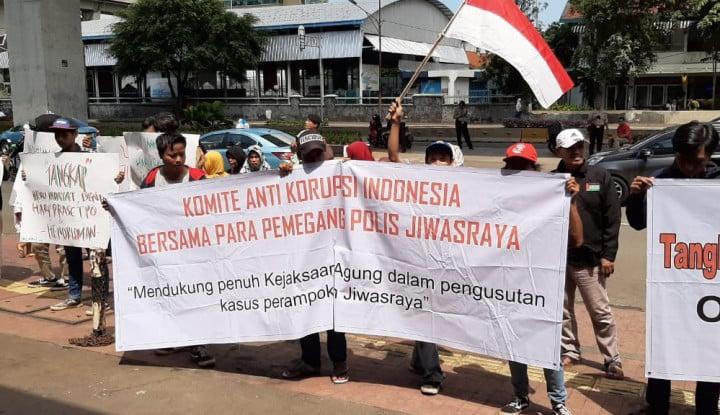 Kasus Jiwasraya, KAKI: Desak Jaksa Agung Tangkap Heru Hidayat Cs - Warta Ekonomi