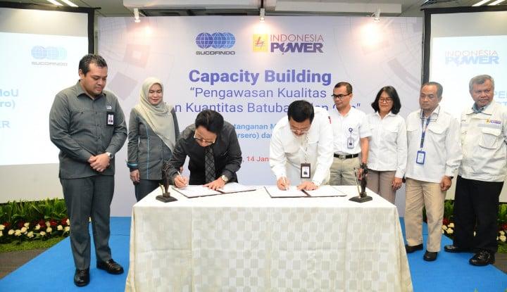 Jalankan Kegiatan Operation & Maintenance, Indonesia Power Gandeng Sucofindo - Warta Ekonomi