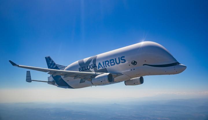 Smile! Resmi Beroperasi, Airbus BelugaXL Hadirkan Kapasitas Super Besar - Warta Ekonomi