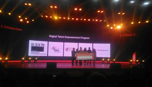 Gandeng Dua Universitas, Alibaba Cloud Berikan Pelatihan Digital Talent