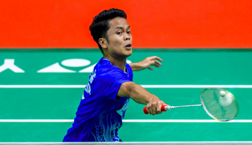 Foto Menang di Indonesia Masters 2020, Anthony Ginting Masuk Peringkat 5 Besar Dunia