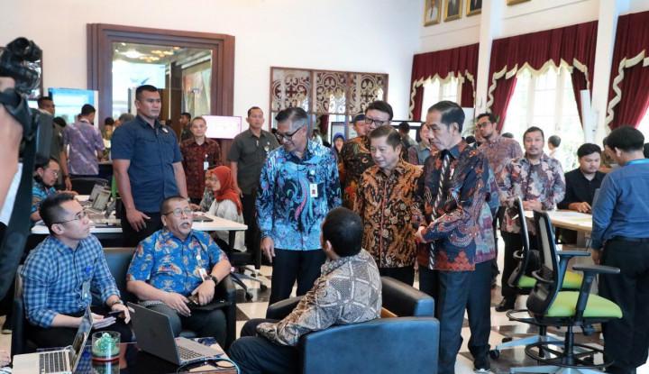Jokowi Jajaki Ruang Kerja Digital Terintegrasi Bappenas - Warta Ekonomi
