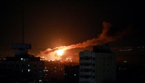 Innalillahi, Jet-jet Tempur Israel Luluhlantakkan Sebagian Wilayah Gaza