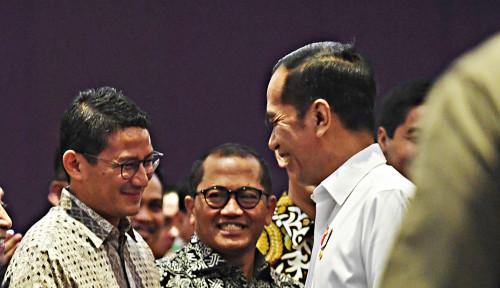 Bang Sandi Mau Jadi Menteri Jokowi? Ini Jawabnya...