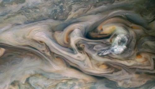 Foto Peneliti Mulai Temukan Bukti-bukti Jupiter Kelimpahan Air, Seperti Apa?