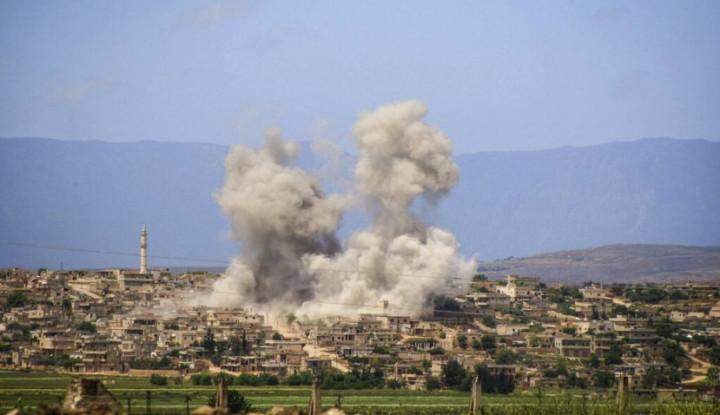 Serangan di Idlib Suriah, AS Bela Turki