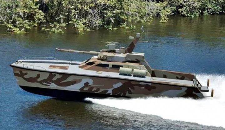 Tank Boat Amfibi Buatan Indonesia Dipesan Rusia - Warta Ekonomi