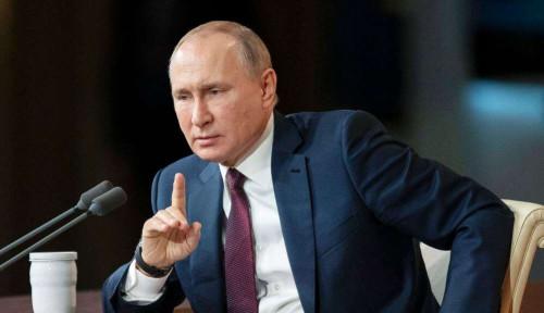 Foto Muncul Teori Konspirasi Presiden Rusia, Putin Diduga Punya Tubuh Lain Demi Keselamatan