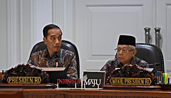 Survei Tunjukkan Publik Cukup Puas pada Pemerintah Jokowi-Maruf Amin, Buktinya...