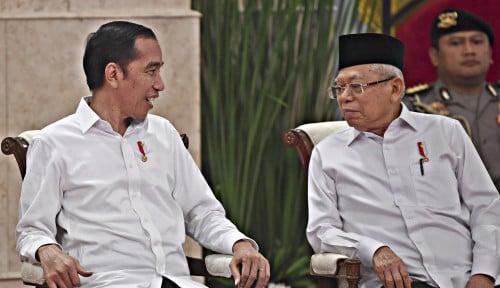 Foto Survei Maruf Amin Jeblok, PKS Minta Jokowi...