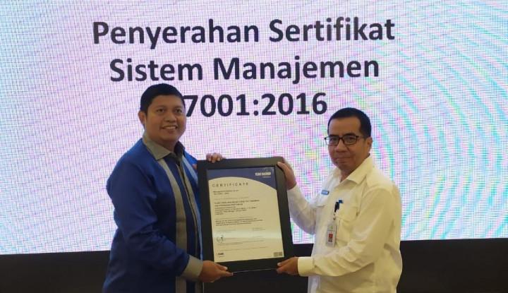 Pusat PVTPP Kementan Terima Sertifikat Sistem Manajemen Anti-Penyuapan - Warta Ekonomi