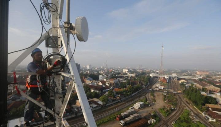 Protelindo Ambil Ribuan Menara Milik XL