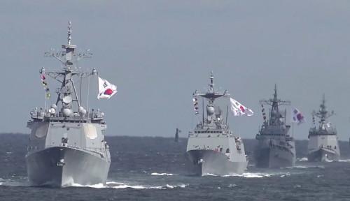 Foto Angkatan Laut Korsel Kerahkan Satuan Anti-Pembajakan ke Selat Hormuz, Tujuannya Tak Lain buat...