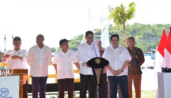 Jokowi Resmikan Destinasi Pariwisata Super Prioritas Kawasan Marina Labuan Bajo Milik PTPP dan ASDP