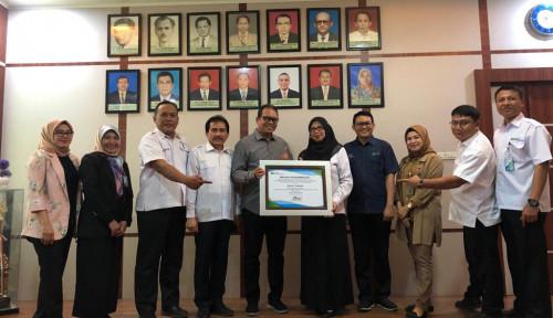 Foto RSU Kota Langsa Raih Pusat Layanan Kecelakaan Kerja Award Tahun 2019
