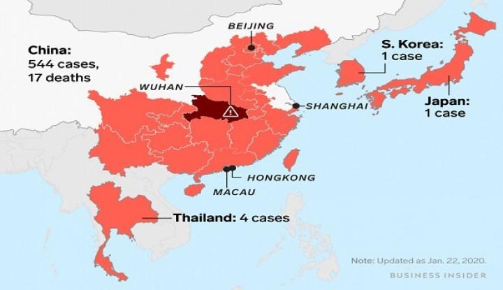 China Tolak Bantuan AS Atasi Virus Corona - Warta Ekonomi