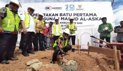Gandeng Baznas, Askrindo Serahkan Bantuan Pembangunan Masjid di Sulawesi Tengah