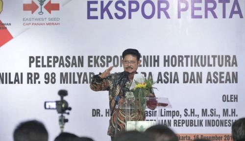 Foto Mentan Syahrul Bakal Tingkatkan Usaha Tani Jadi Skala Bisnis