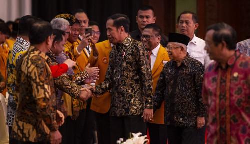 Foto Jokowi Dukung Hanura Sukses di Pilkada 2020