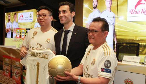 Foto Sasar Pasar Eropa, Dua Kelinci Teken Kontrak 4 Tahun Dengan Real Madrid
